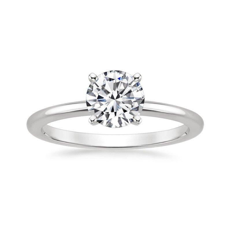 Lasker Bridal Solitaire Diamond Ring - .96ct Round