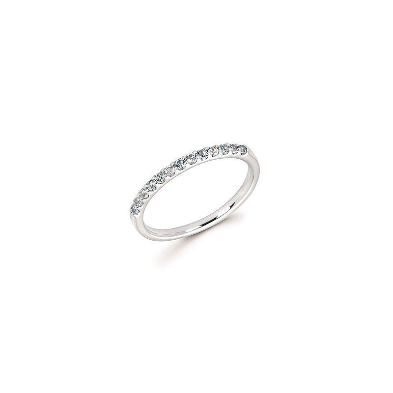 Lasker Gemstone Aquamarine Birthstone ring