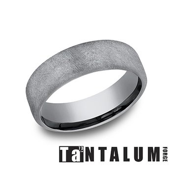 6.5mm Tantalum Band - Wire Finish