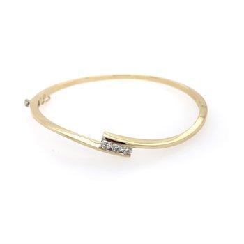 Bypass Bangle Bracelet