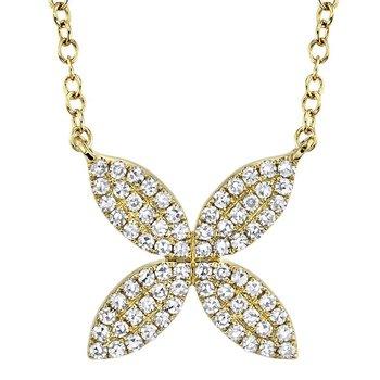 Petal Power Diamond Necklace