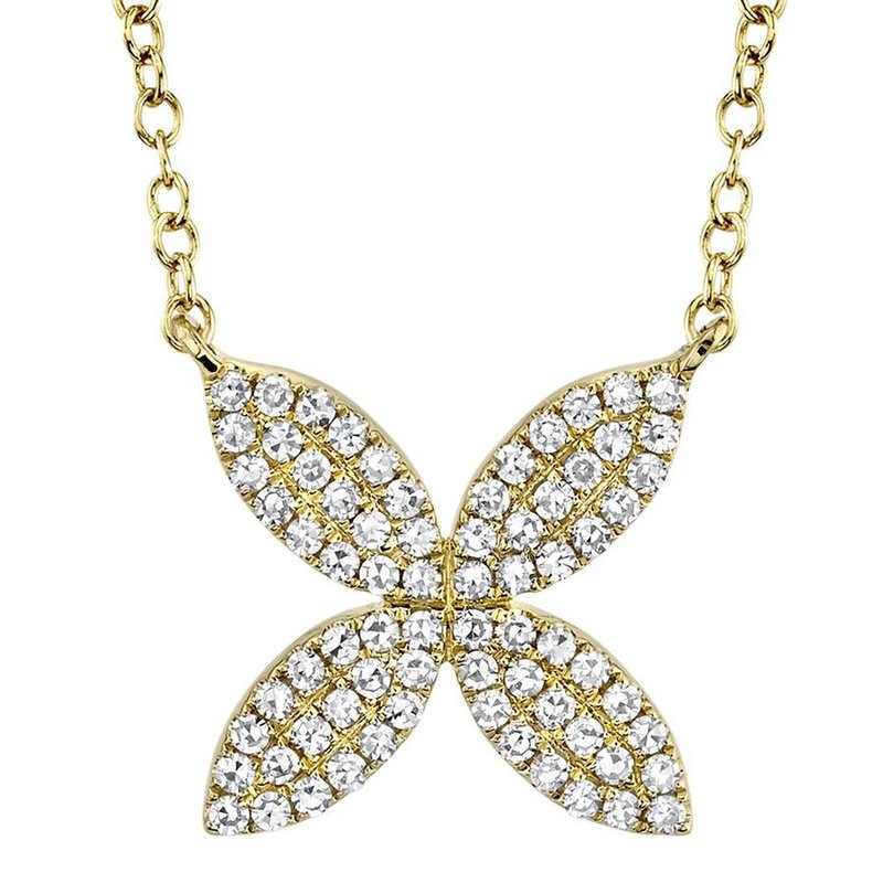 Lasker Diamond Fashion Petal Power Diamond Necklace