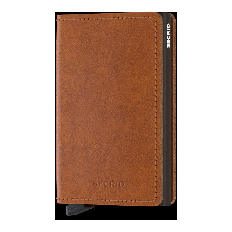 Lasker Signature Slimwallet- Original Cognac-Brown