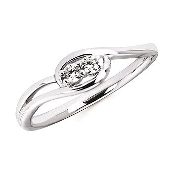 Two-Stone Promise Ring