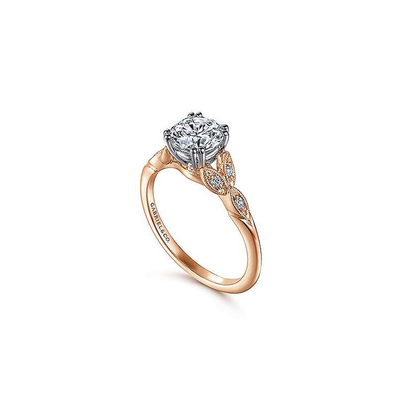 Gabriel Bridal Celia Vintage-Inspired Ring Mounting