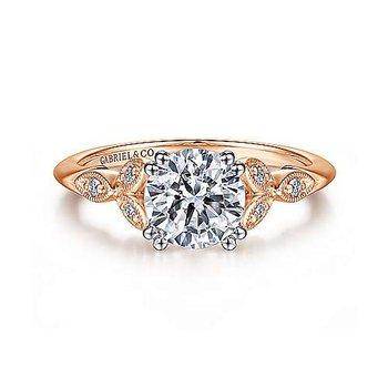 Celia Vintage-Inspired Ring Mounting