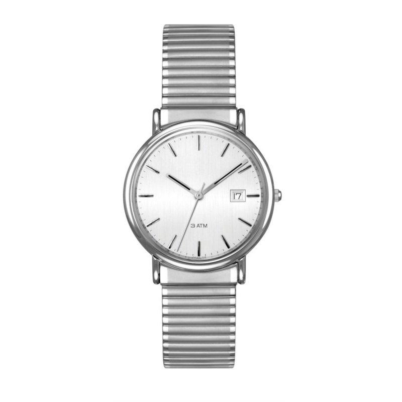 Lasker's Timepiece Collection Lasker Steel Flex-Band Timepiece