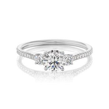 Classic Diamond 3-Stone Ring