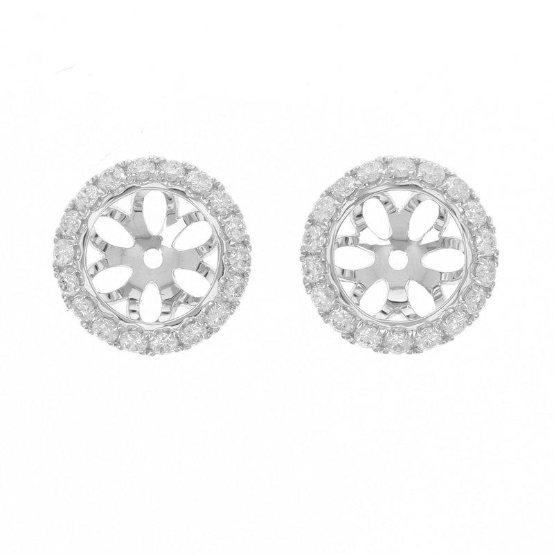 Lasker Diamond Fashion Halo Earring Jackets