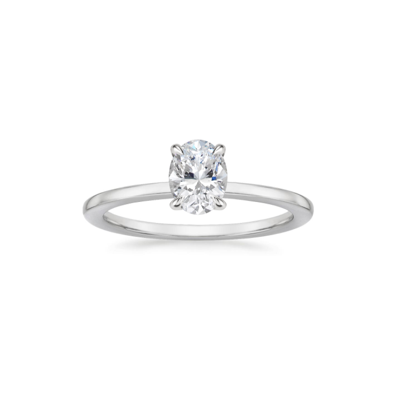 Lasker Bridal Simply Petite Solitaire Mounting