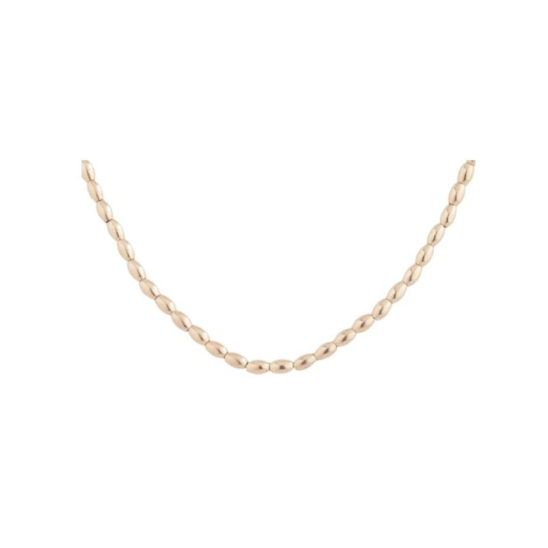 """enewton Harmony Small Gold Filled Bead Necklace 41"""""""