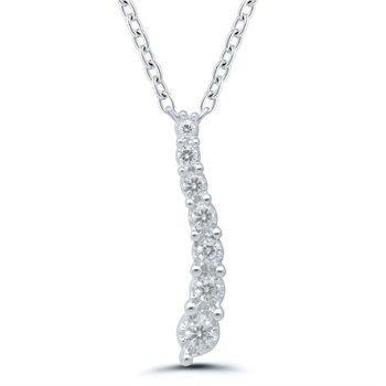 Journey Diamond Pendant - .10ctw