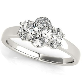 3-Stone Oval Ring - 1.52cttw