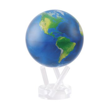 Spinning Globe - Natural Earth