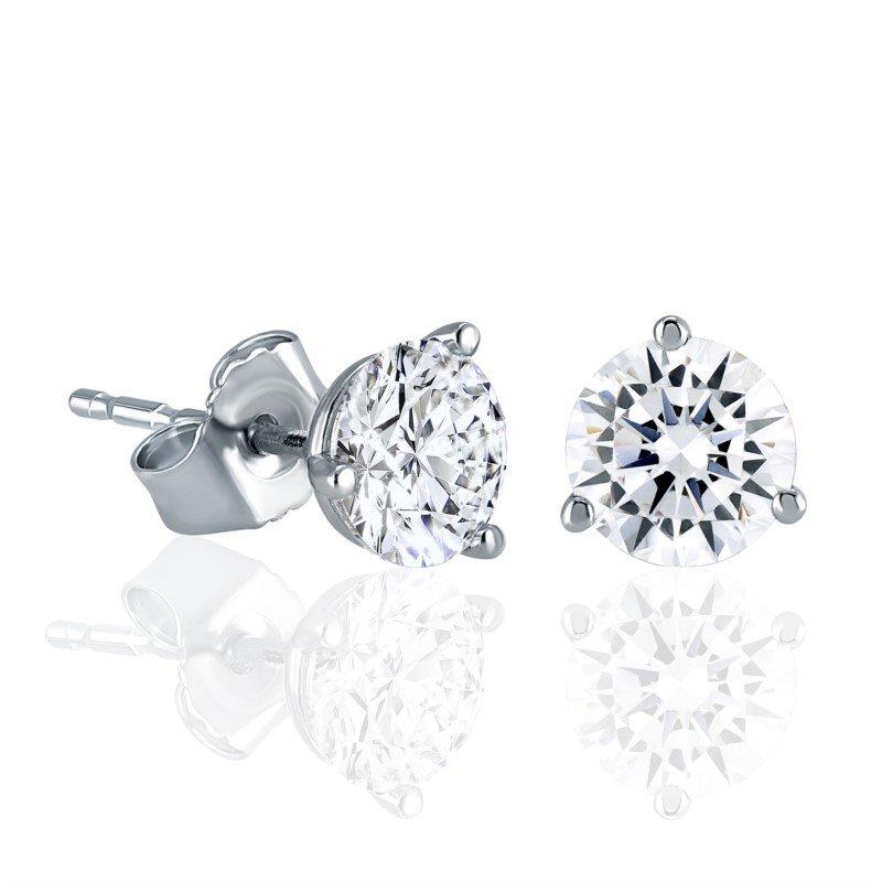 Fire & Ice Diamonds Fire & Ice Diamond Studs - 1/3cttw