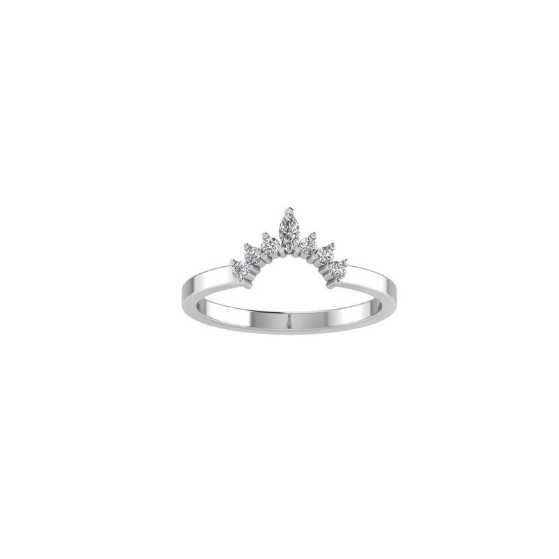 Lasker Bridal Crown Collection Band