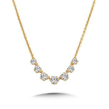 Milestone Diamond Necklace - .70cttw