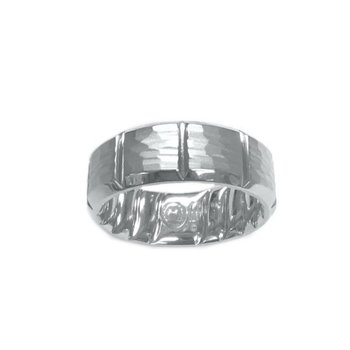 7.5mm Hammered Band