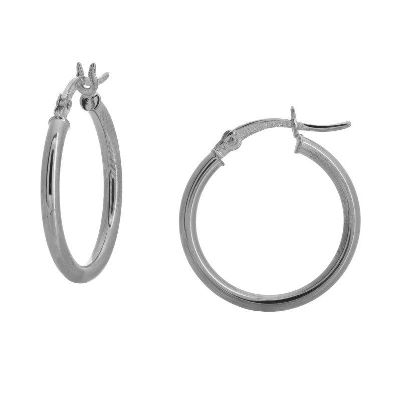 Lasker Gold Fashion 20MM Hoop Earrings