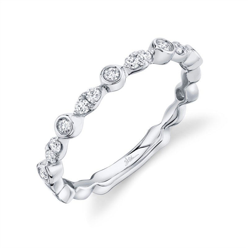 Lasker Bridal Stackable Diamond Band