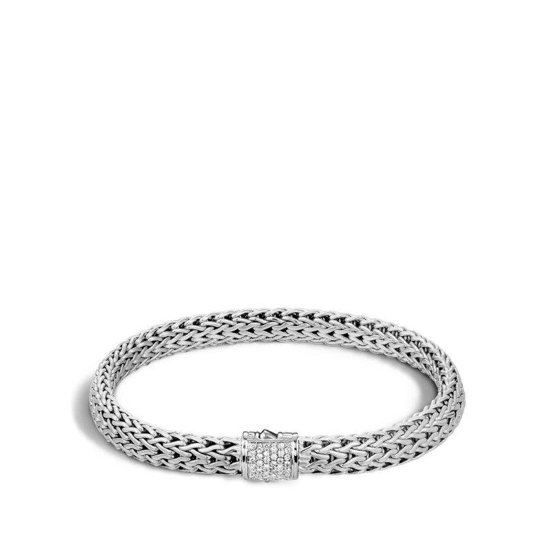 JOHN HARDY Classic Chain Bracelet with Diamonds