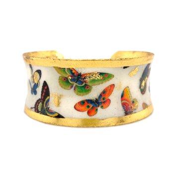 Chinese Butterflies Corset Cuff