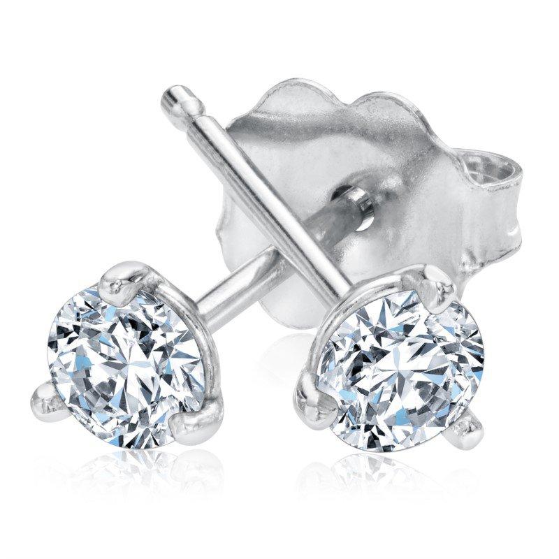 Lasker Diamond Fashion Forevermark Diamond Studs - .74cttw