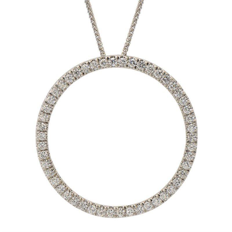 Lasker Diamond Fashion Circle of Life Pendant