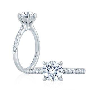 Fire & Ice Harper Ring-1ct Center Diamond
