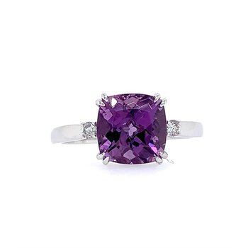One and Only Amethyst Ring