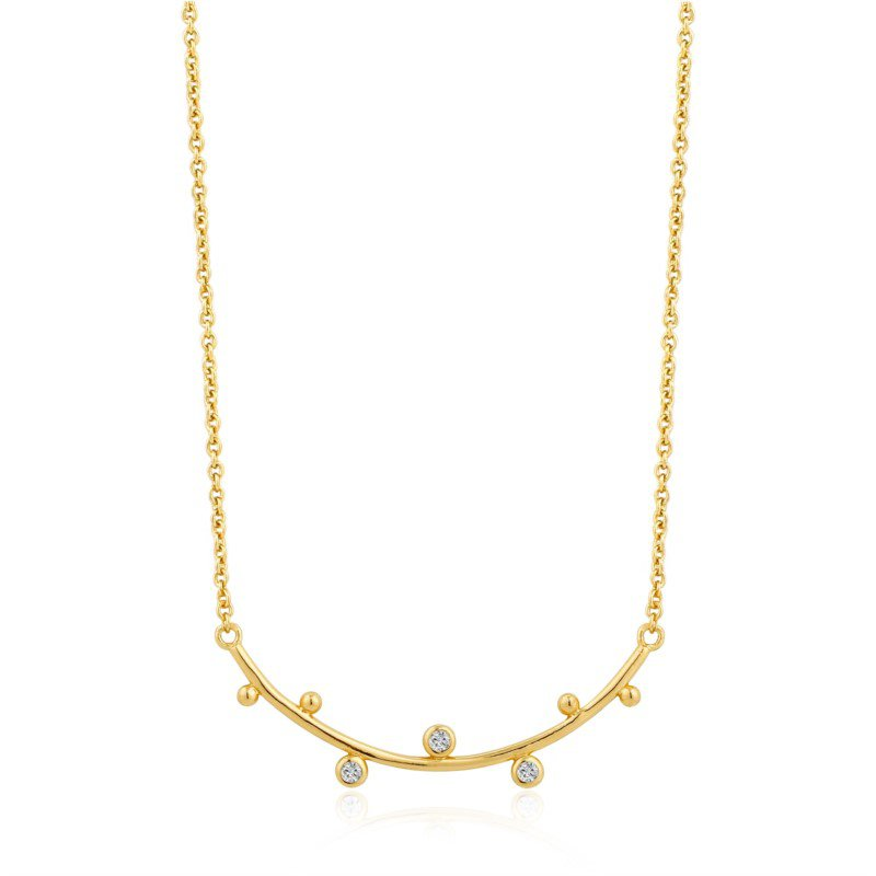Ania Haie Shimmer Solid Bar Necklace