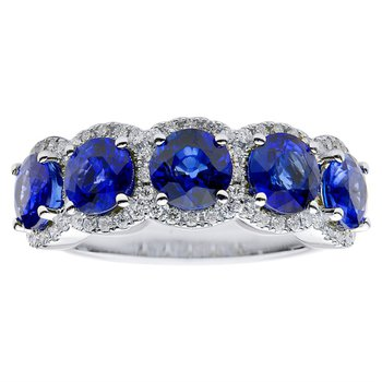 Center of My Universe Sapphire Ring