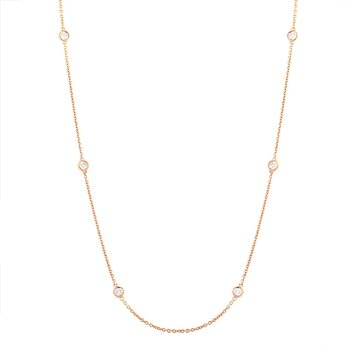 3/4cttw Diamonds-By-The-Yard Necklace