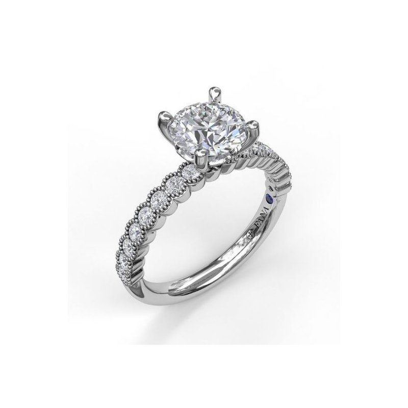 Fana Classic Engagement Ring Mounting