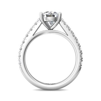 Classic Prong FlyerFit Engagement Ring Mounting
