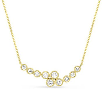 Bypass Crescent Necklace