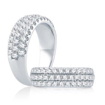 Lasker's Amour Ring - 1cttw