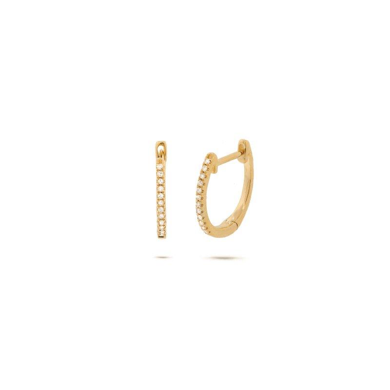Lasker Diamond Fashion Everyday Diamond Hoops