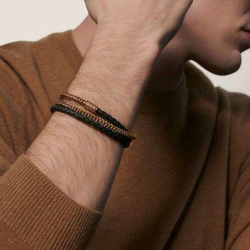 Classic Chain Triple Wrap Bracelet