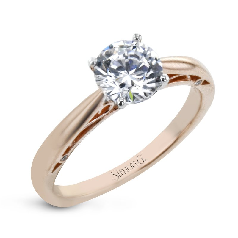 Simon G Solitaire Engagement Ring Mounting