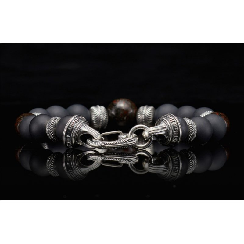 Lasker Signature Magma Beaded Bracelet - Size Large