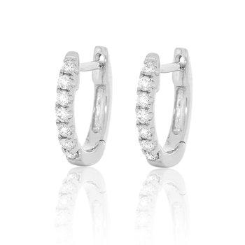 Diamond Hoops - 1cttw