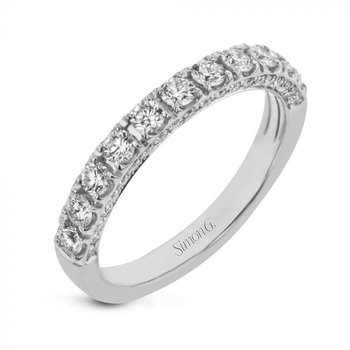 Classic Diamond Pave Band