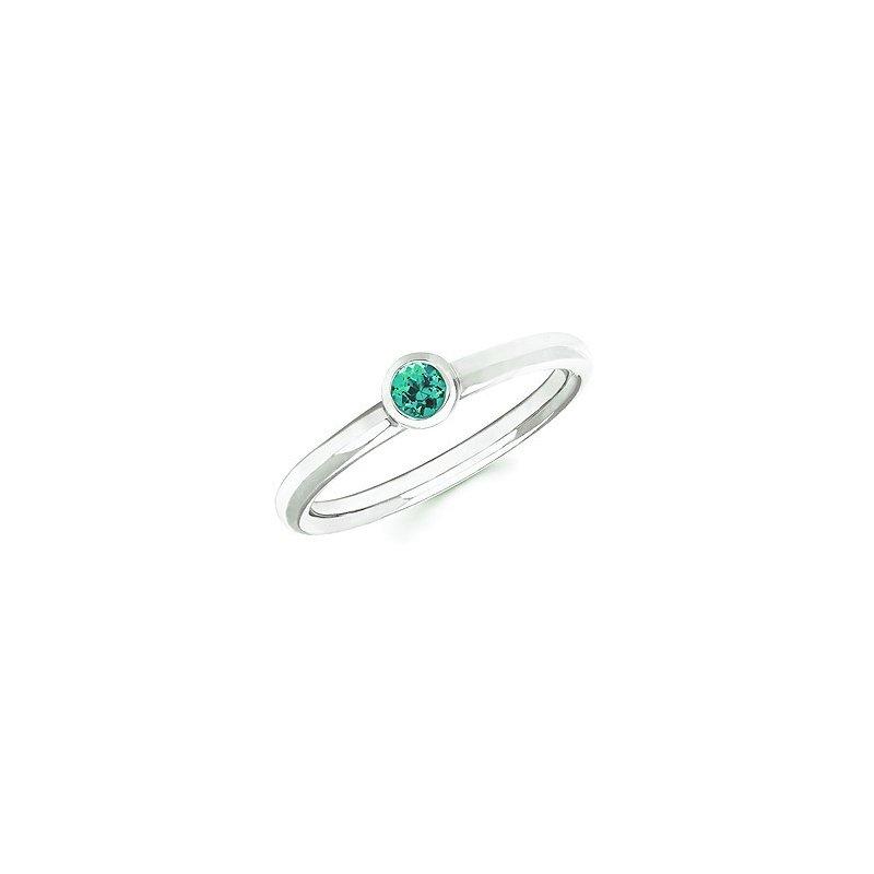 Lasker Gemstone May Stackable Ring