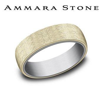 Amara Stone - Tantalum & 14KT Yellow Gold