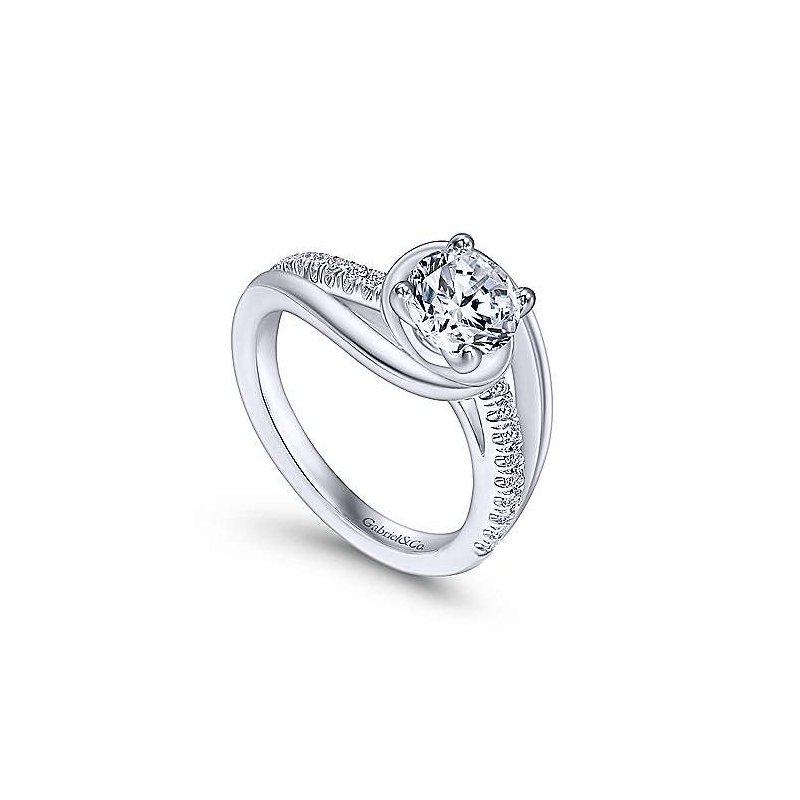 Gabriel Bridal Lucca Ring Mounting