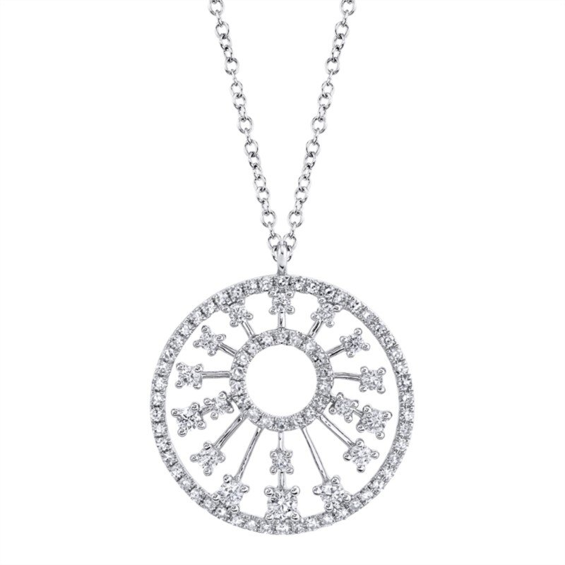 Lasker Diamond Fashion Diamond Circle Pendant
