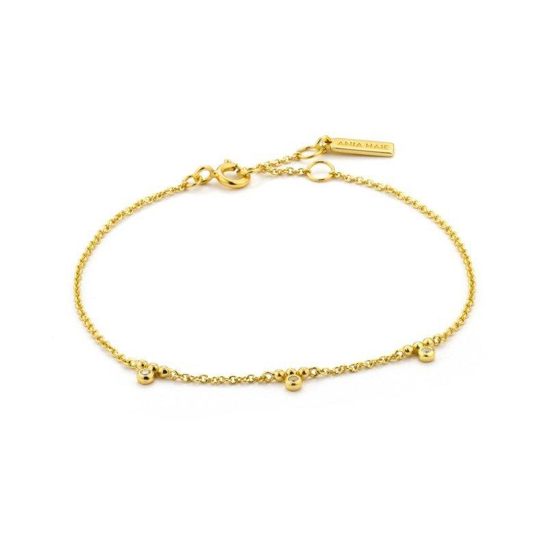 Ania Haie Shimmer Triple Stud Bracelet
