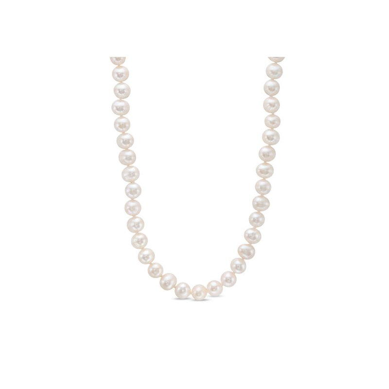 Lasker Pearl Fashion Single Strand Freshwater Cultured Pearls