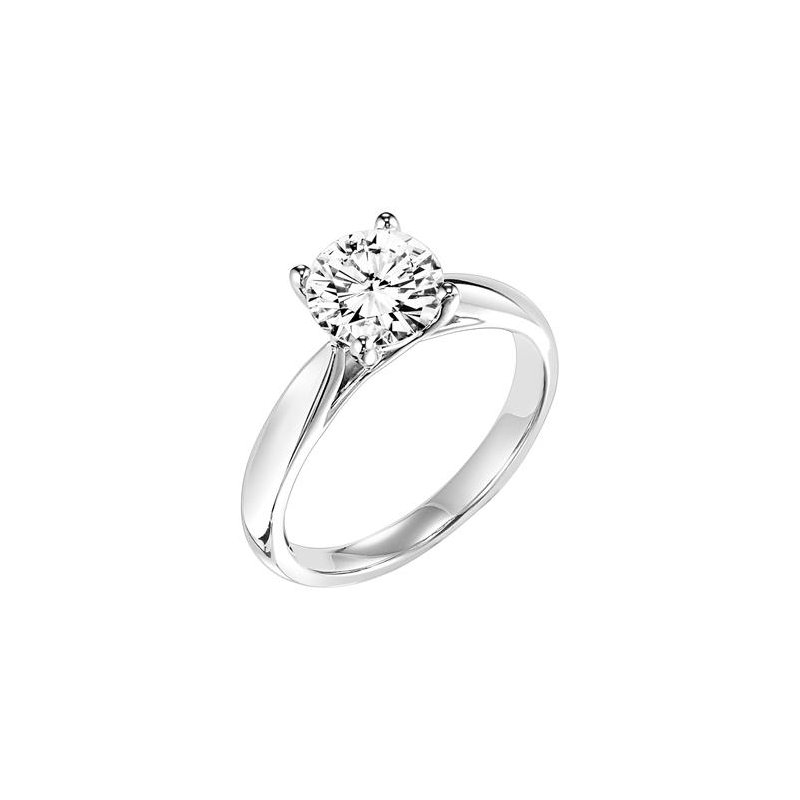 Lasker Bridal 2.5mm Tapered Trellis Solitaire Mounting - .75ct